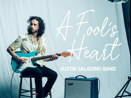 MONTREAL'S GUITAR DRIVEN BLUES ARTISTS JUSTIN SALADINO BAND RELEASE 'A FOOL'S HEART'