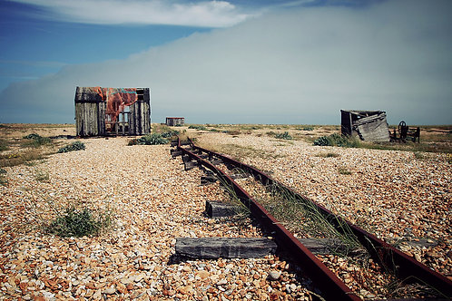Dungeness A3 Canvas