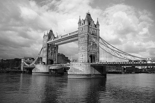 London Bridge Greetings Card
