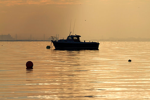 Southend Sunset Greetings Card