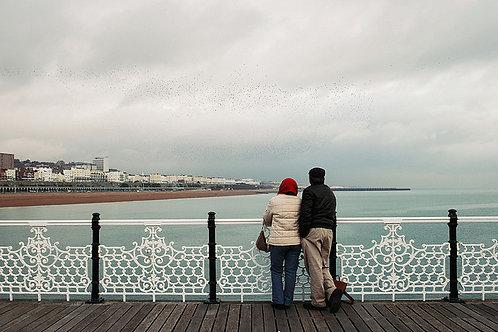 Brighton Pier Greetings Card