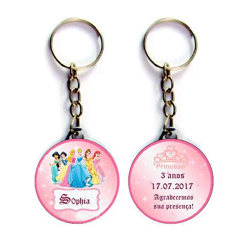 Chaveiro Princesas Disney