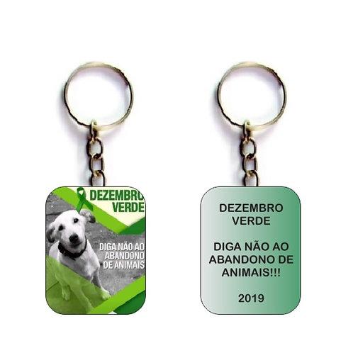 Chaveiro Personalizado - Dezembro Verde