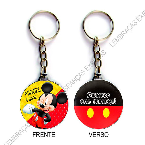 Chaveiro Mickey Disney