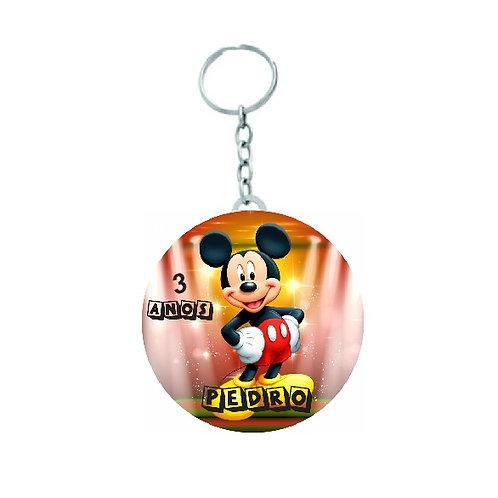 Chaveiro Redondo Mickey Mouse