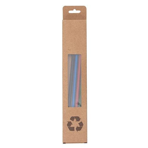 Embalagem Reciclável para Canudo