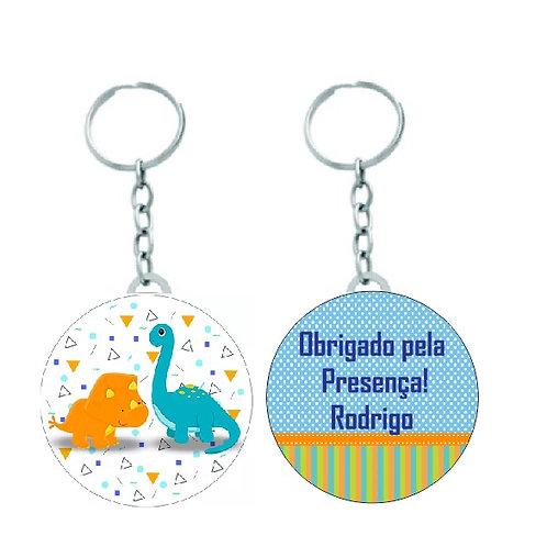 Chaveiro Redondo Dino Baby