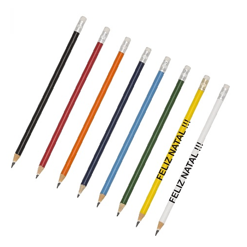 Lápis Personalizado Diversas Cores