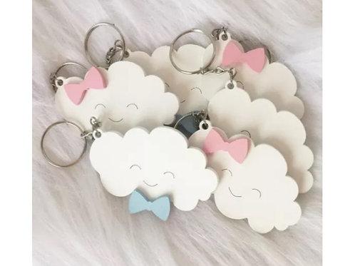 Chaveiro Nuvem Chuva de Amor