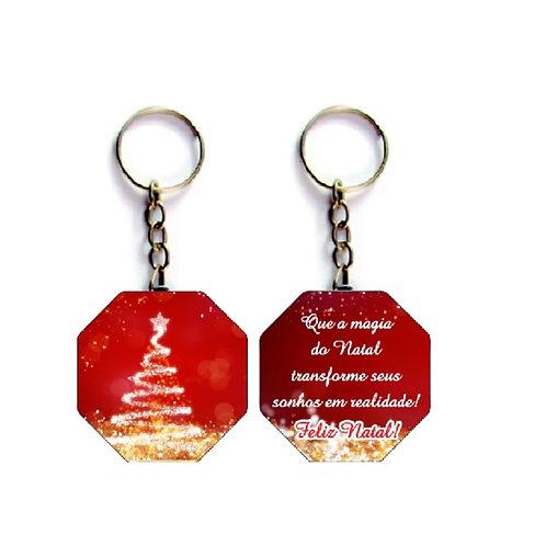 Chaveiro Natal Personalizado - Corporativo