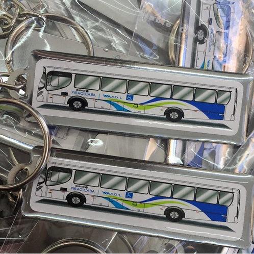 Chaveiro Personalizado - Ônibus/Empresa