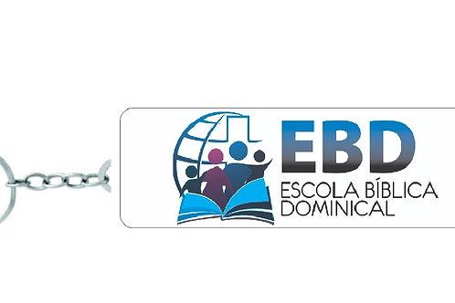 Chaveiro Retangular - Escola Bíblica Dominical