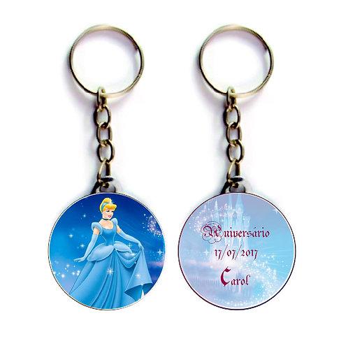 Chaveiro Cinderela Disney