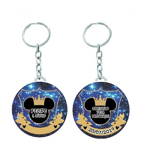 Chaveiro Mickey Príncipe - Disney