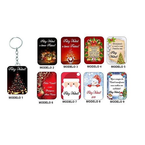 Chaveiros de Natal Sortidos - PROMOCIONAL