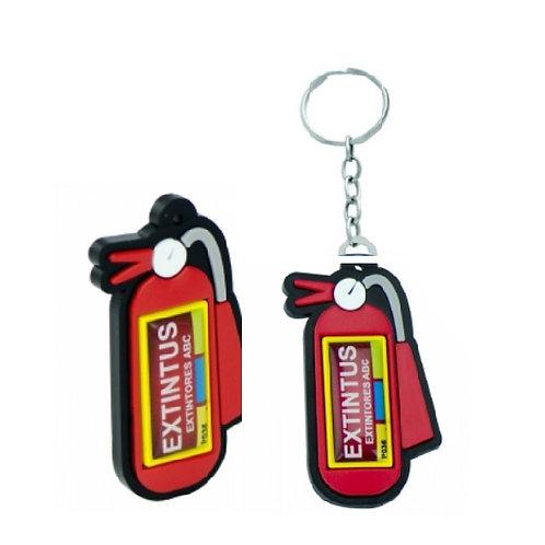 Chaveiro Extintor com Logo Personalizado