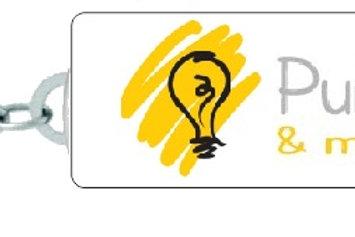 Chaveiro Retangular com Logo Personalizado