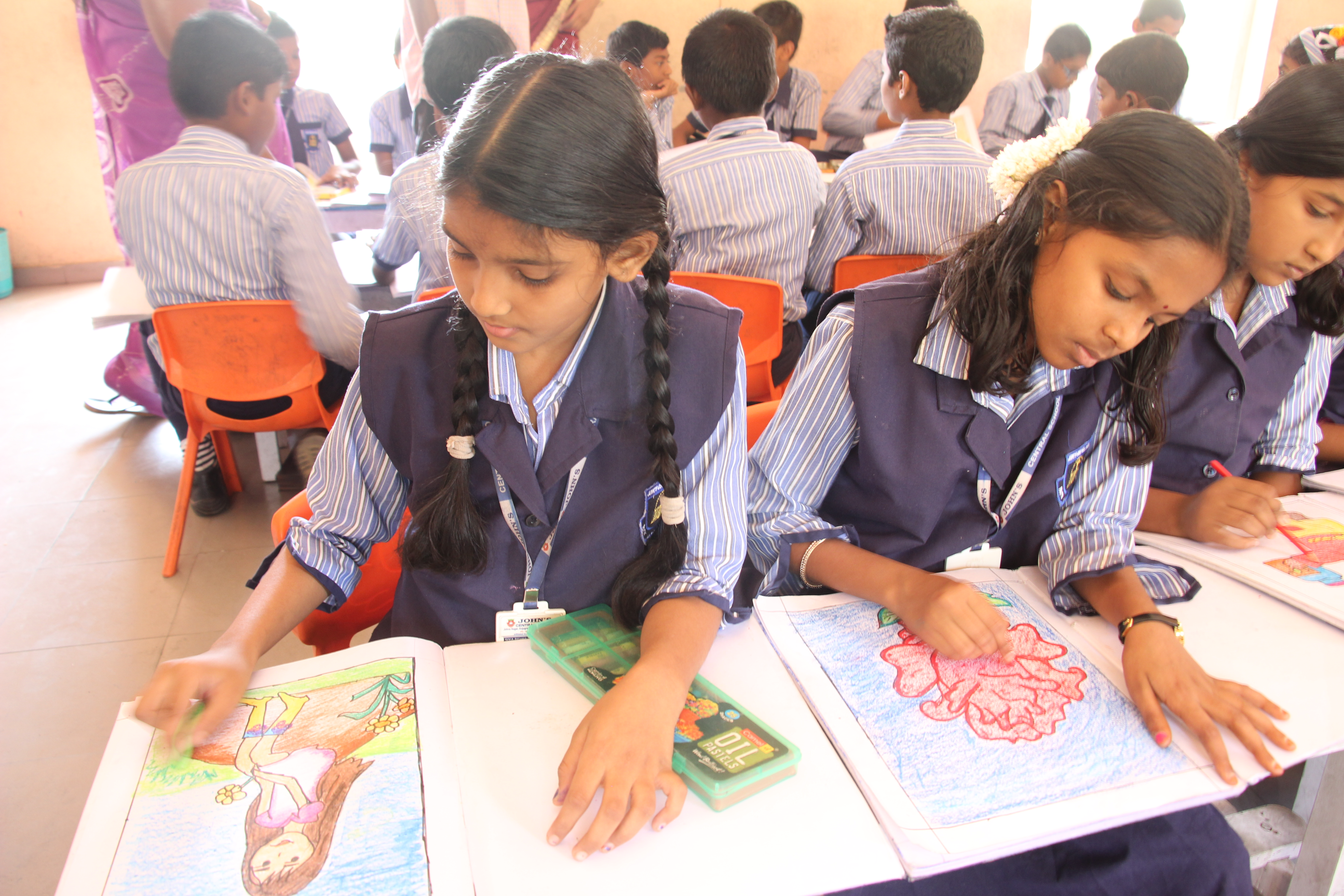 Showing creativity - Drawing Activity