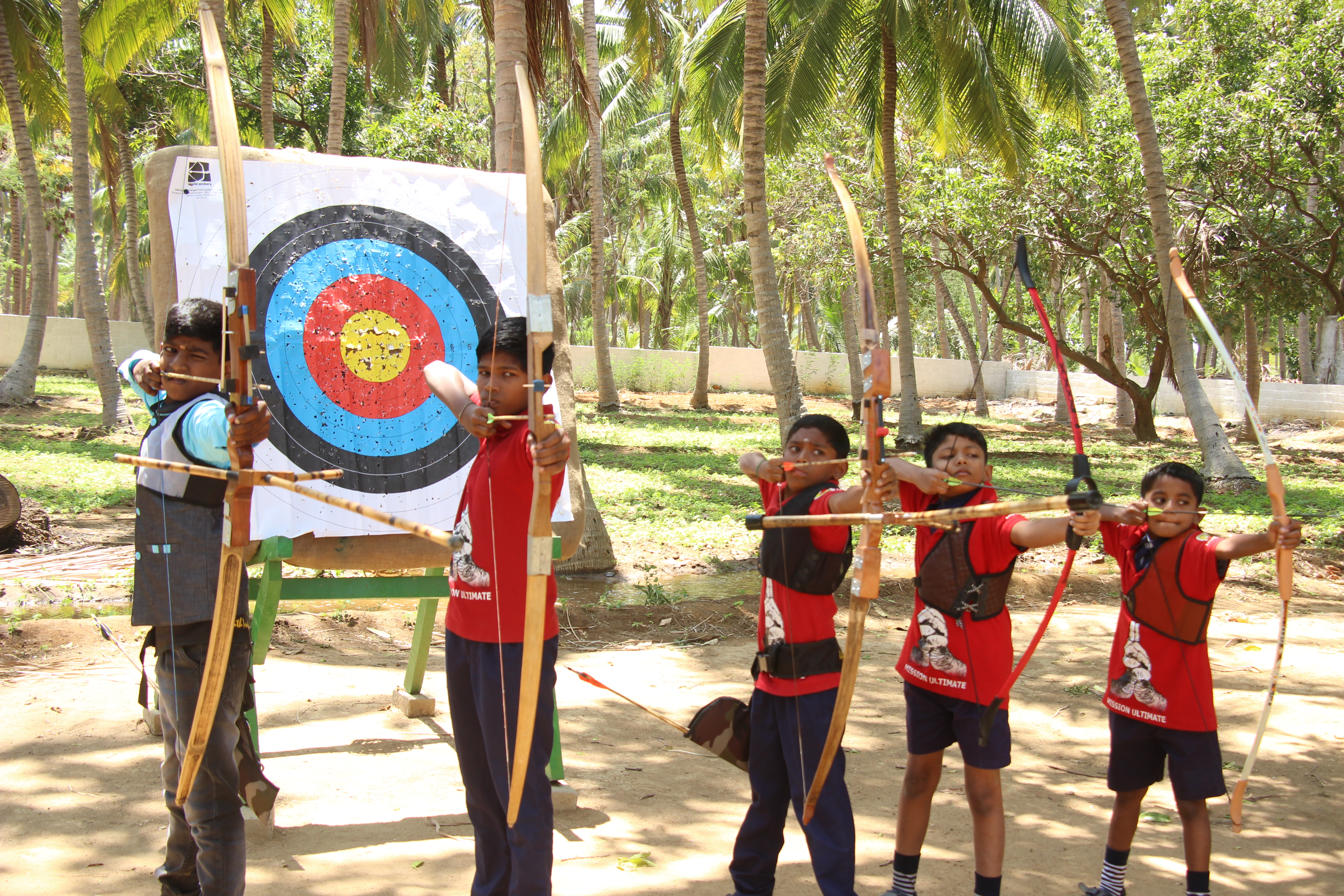 Performing Archery