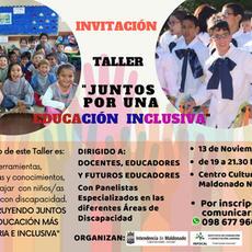 Juntos por una Educación Inclusiva