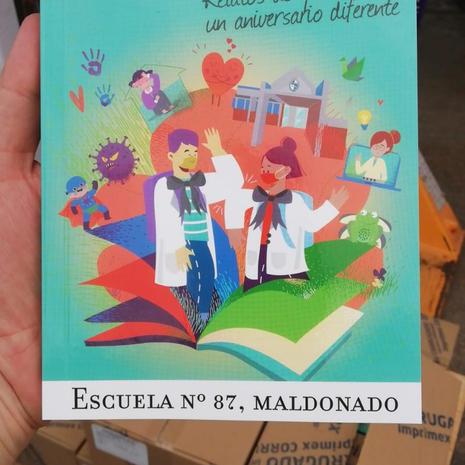 Edición de Libro Escuela 87 Maldonado