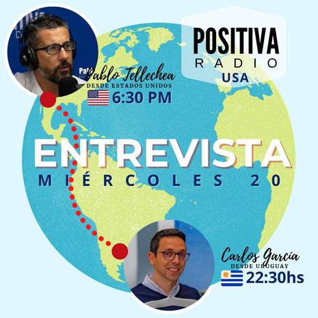 Entrevista en Positiva Radio USA 1490