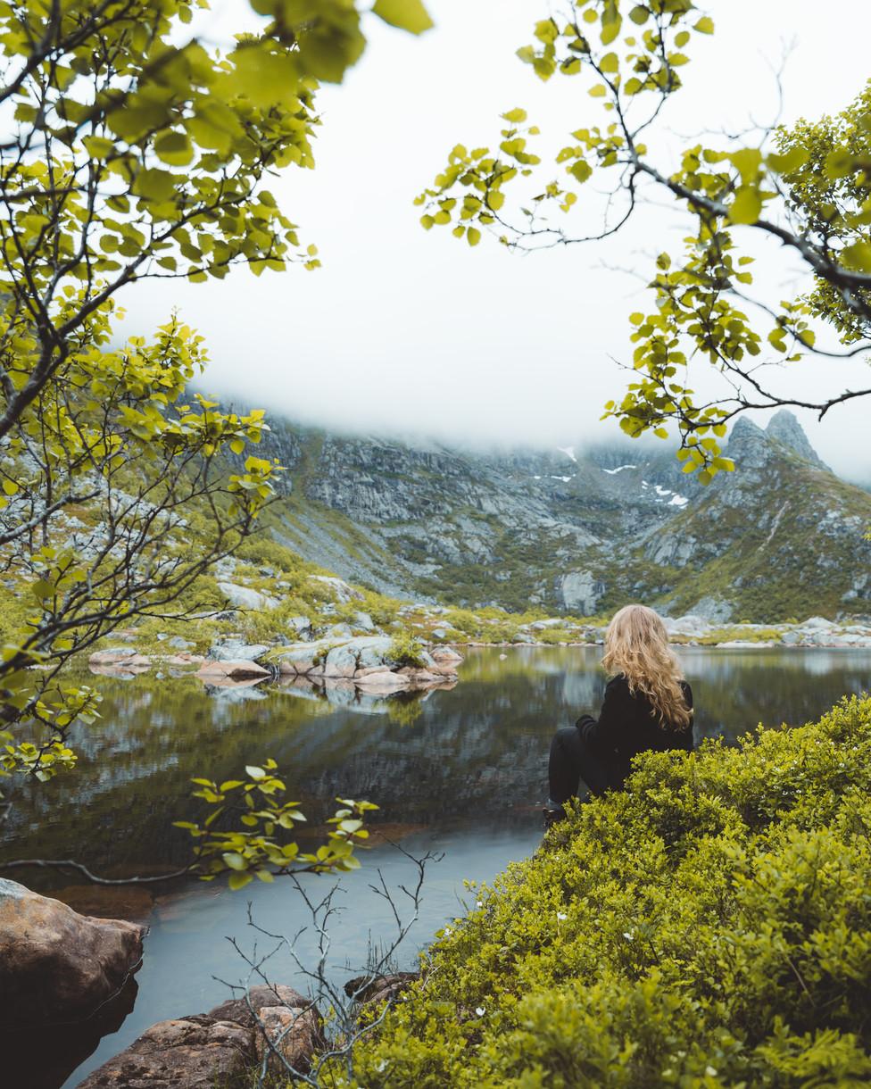 Lofoten Mountain
