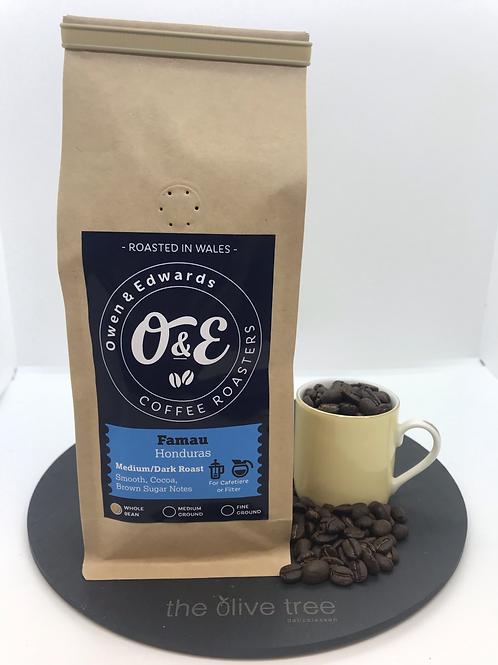 """Honduras """"Famau"""" Coffee 227g"""