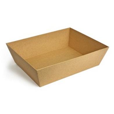 LARGE  Cardboard Tray (MANILLA)