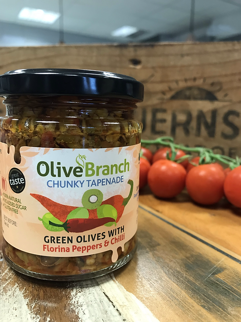 Florina Peppers & Chilli Tapenade 180g