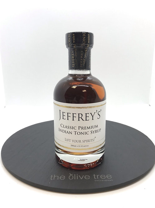 Jeffrey's Classic Premium Indian Tonic Syrup 200ml