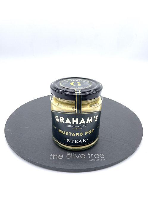 Graham's Steak Mustard 190g