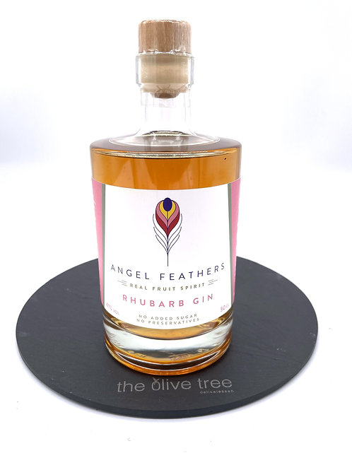 Angel Feathers Rhubarb Gin 50cl