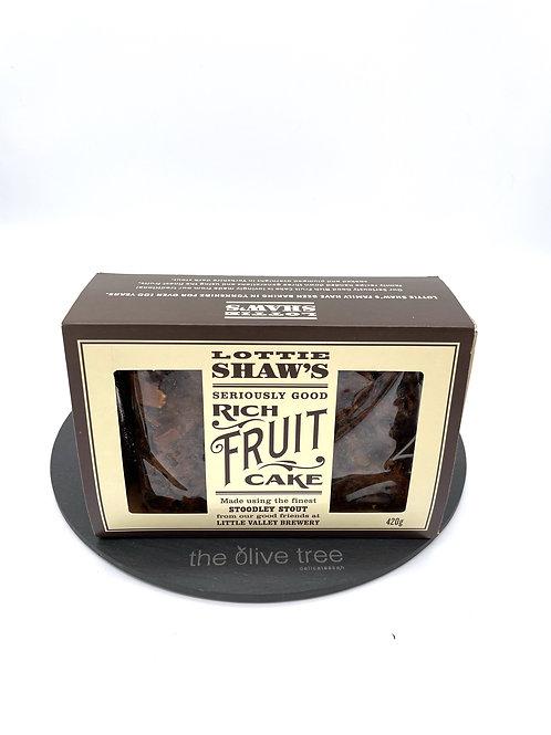 Lottie Shaws Rich Fruit Cake 420g