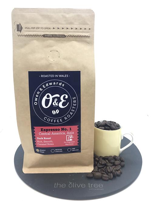 "Central America ""Espresso No 1"" Coffee 227g"