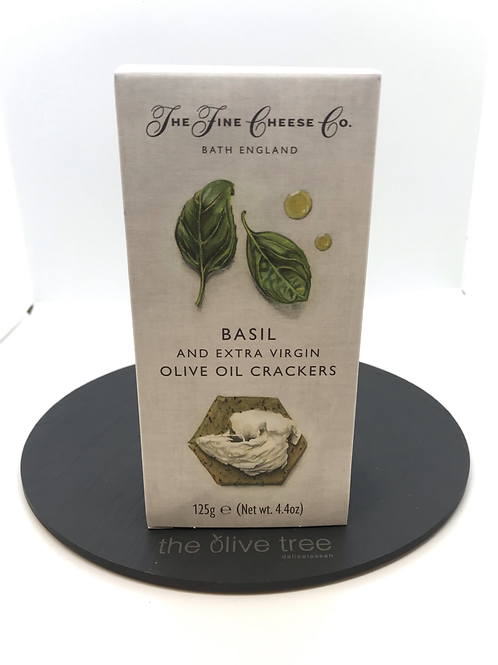 Flavoured Crackers Basil & Extra Virgin Olive Oil