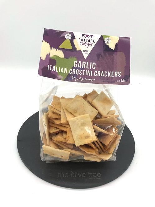 Garlic Italian Crostini Crackers 170g