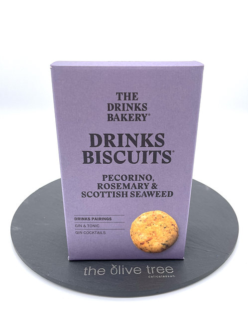 Pecorino, Rosemary & Scottish Seaweed Biscuits 110g
