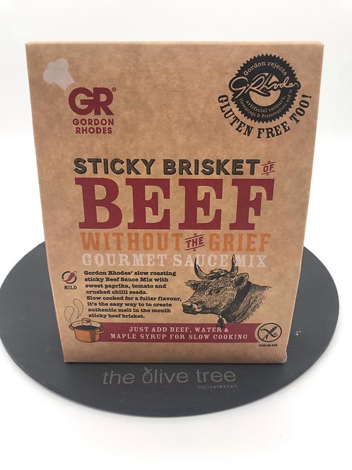"""Gordon Rhodes """"Sticky Brisket of Beef Mix"""" 75g"""