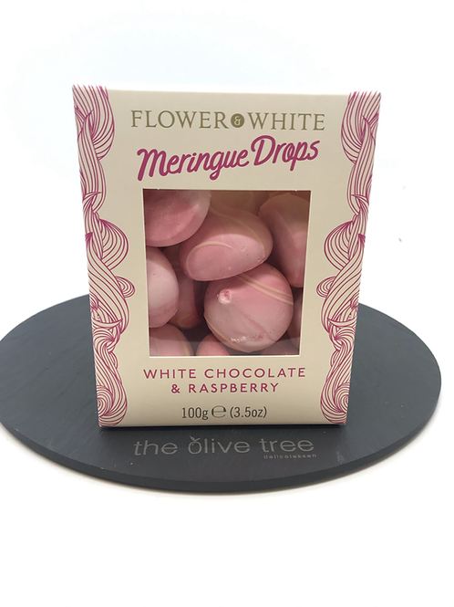 Meringue Drops - White Chocolate