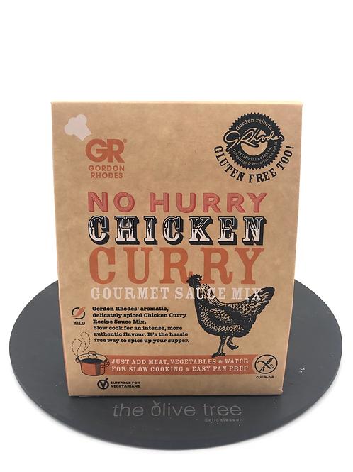 """Gordon Rhodes. """"No Hurry Chicken Curry"""" 75g"""