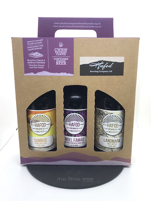 Gift Pack of Hafod Ale 3x500ml