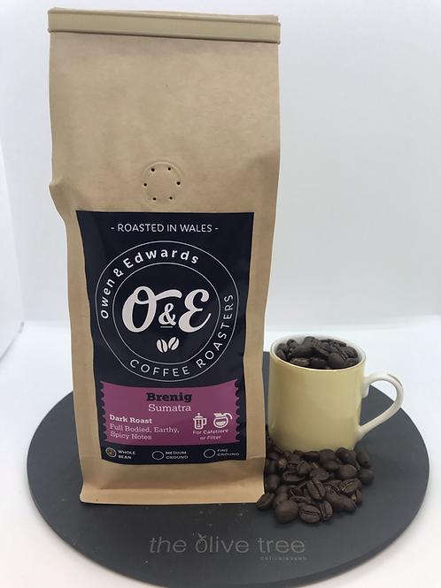 "Sumatra ""Brenig"" Coffee 227g"