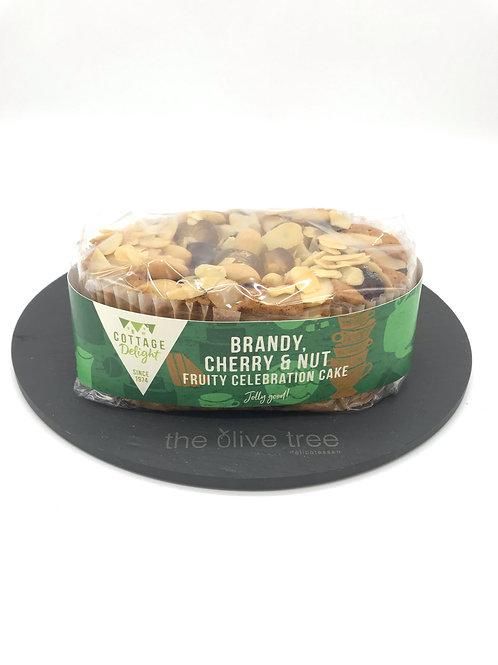 Brandy, Cherry & Nut Celebration Cake 500g