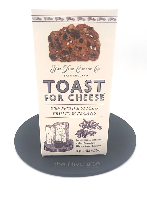Festive Toast for Cheese with Spiced Fruits & Pecans 100g