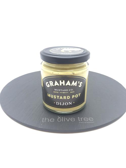 Graham's Dijon Mustard Pot 190g