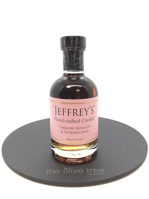 """Jeffrey's Hand-crafted Cordial """" Yarrow, Rosehip & Elderflower"""""""