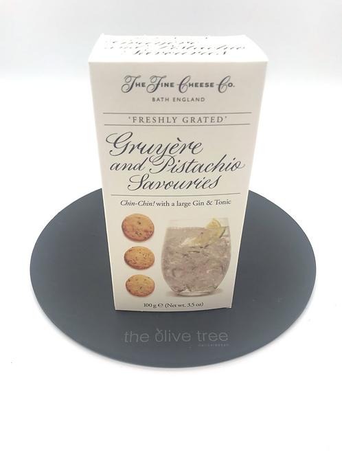 Gruyere & Pistachio Savouries 100g