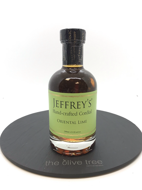 "Jeffreys Hand-crafted Cordial ""oriental lime"""