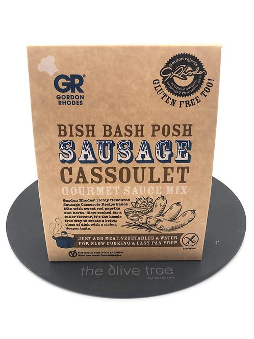 """Gordon Rhodes """"Bish Bash Posh"""" Sausage Cassoulet 75g"""